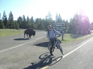 pedaling away from Buffalo
