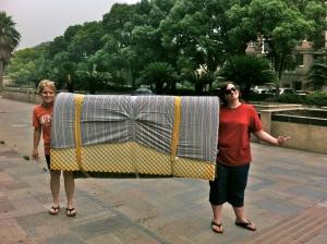 moving the mattress