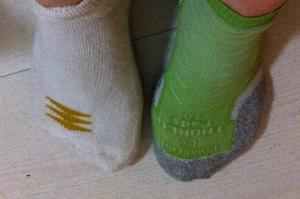 mismatched socks for the week